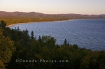 Photo: Lake Superior Bay Sunset Ontario Canada