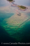 Photo: Aerial Small Rocky Islands In Lake Superior