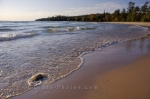 Photo: Lake Superior Waves Sandy Beach Ontario