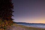 Photo: Lakeshore Sunset Autumn Colors Lake Superior