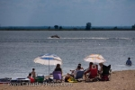 Photo: Last Mountain Lake Summer Beach Activities Qu Appelle Valley Saskatchewan