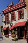 Photo: Le Cavour Restaurant Exterior Rue Saint Louis Old Quebec Canada