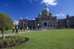 The Legislative Building in Victoria, British Columbia, Canada, is the seat of Provincial law-making and the centre of political power in the Province.