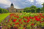 Photo: Legislative Building Flower Gardens Regina City Saskatchewan