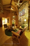 Photo: Living Room Lounge Fishing Lodge Southern Labrador