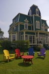 Photo: Locke Homestead With Lawn Furniture Lockeport Nova Scotia