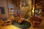 Photo: Lounging Area Rifflin Hitch Lodge Labrador