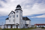 The old wooden building known as the Loyal Orange Association Hall was built in 1907 in the town of Bonavista, Newfoundland.