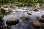 Photo: Mills Falls Scenery Mersey River Kejimkujik National Park Nova Scotia