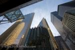 Photo: Modern Buildings Reflect Financial District Toronto