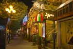 Summer brings in many tourists to the Rue Saint Denis in Montreal, Quebec where the street is full of exciting nightlife and restaurants.