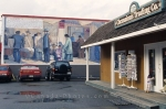 Murals closes to the Chemainus Traiding Company on Vancouver Island, British Columbia, Canada.