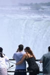 Photo: Young Couple At The Niagara Falls