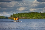 A great way to visit the wilderness of Red Lake, Ontario is to charter a water taxi and fly in aboard a Norseman aircraft.