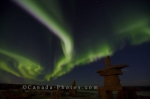 Photo: Northern Lights Display Hudson Bay Manitoba