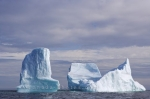 Photo: Old Bonaventure Stranded Iceberg Trinity Bay Newfoundland