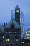 The old City Hall in Toronto, Ontario is a historical and very important landmark in the city.