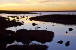 Photo: Pond Sunset Southern Labrador