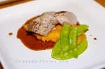 Photo: Pork Tenderloin Peas Entree Picture