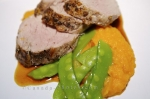 Photo: Pork Tenderloin Gourmet Meal Picture
