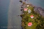 Photo: Porphyry Point Lighthouse Aerial Lake Superior Thunder Bay