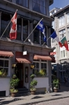 Photo: Quaint Restaurant Old Montreal Street