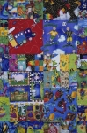Nothing can beat the charm of a handmade quilt that someone in the town of Fort McLeod, Alberta has spent hours making.