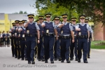 The City of Regina, Saskatchewan is home to the RCMP Academy and all people training to be in the force, including the cadets, participate in the Sargeant Major's Parade and Graduation Ceremony.