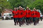 Photo: RCMP Ceremony Parade Marching Regina City Saskatchewan