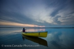 Photo: Riding Mountain National Park Sunset Canoeing Lake Audy