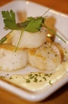 Photo: Scallop Meal Tuckamore Lodge Newfoundland