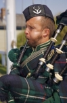 Photo: Scottish Bagpiper Halifax Citadel National Historic Site