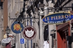 Photo: Shop Signs Old Montreal Quebec