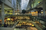 There are more stores in the Eaton Centre shopping mall in Toronto, Ontario than you will find anywhere else in Canada.
