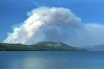 Photo: Smoke Forest Fire Klondike Highway