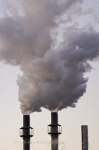 Photo: Smoke Stacks Industrial Plant Pollution Sault Ste Marie