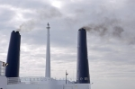 Photo: Smoke Stacks MV Caribou Ferry Newfoundland