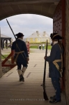 Photo: Soldiers Fortress Of Louisbourg Nova Scotia