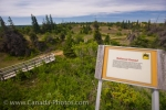 Photo: Spirit Sands Trail Sign Spruce Woods Provincial Park Manitoba