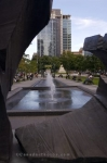 Photo: Square Victoria Fountain Montreal Quebec