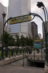 Photo: Square Victoria Metro Sign Montreal Quebec