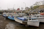 Photo: Stranded Fishing Boats Halls Habour Nova Scotia