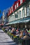 Photo: Street Cafes Place D Armes Quebec
