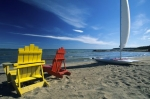 Photo: Sun Chairs Lake Huron