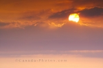 Photo: Sunset Clouds Rocky Harbour Newfoundland