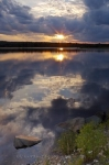 Photo: Sunset St Marys River Sherbrooke Nova Scotia