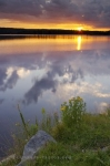 Photo: Surreal Sunset Clouds Reflections Picture