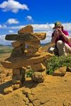 Photo: Tablelands Inukshuk Newfoundland