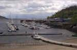 Photo: Tadoussac Town Marina Quebec Canada