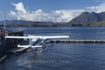 A float plane that can taxi you in and out of Tofino on the West Coast of Vancouver Island in British Columbia.
